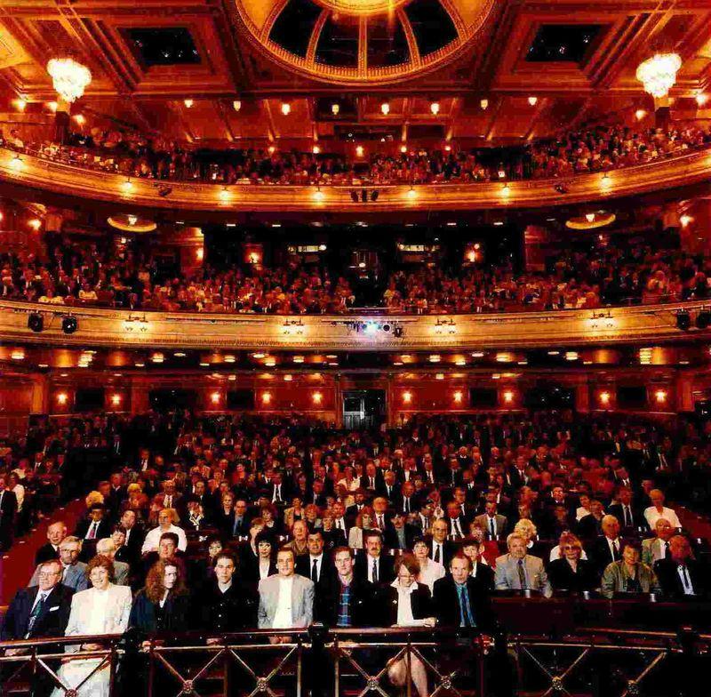 Edinburgh Festival Theatre Builders Night Audience 5 May 1994