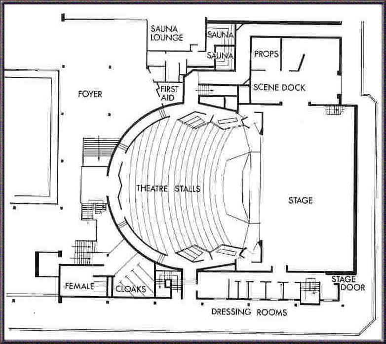 Plan Of Forum Theatre Tabs No 25